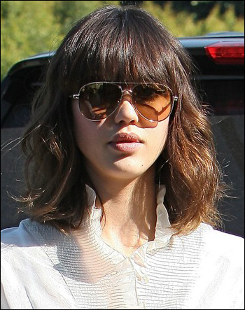 Jessica Alba Haircut 2011. new jessica alba haircut