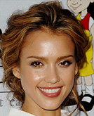 Wavy Hairstyle with Jessica Alba