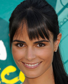 Jordana Brewster's High Ponytail Hairstyle with Bangs at 2009 Teen Choice Awards