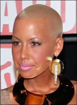 Amber Rose hairstyles
