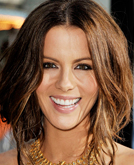 Kate Beckinsale's Elegant Low Updo Hairstyle