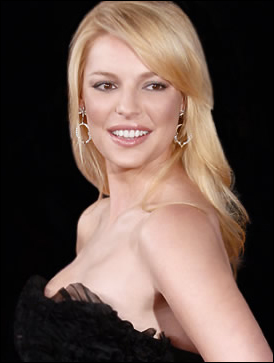 Katherine Heigl's Long Hairstyle