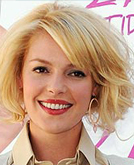 Katherine Heigl Blond Medium Hairstyle
