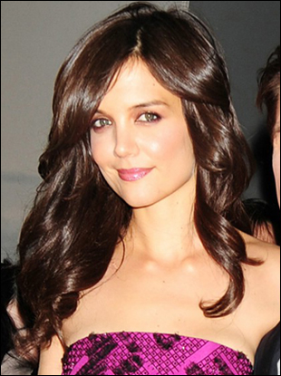 Katie Holmes with Gorgeous Long 'New' Hairstyle