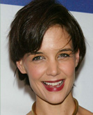Katie Holmes with Short Hairstyle