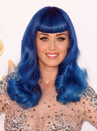 katy perry blue hue