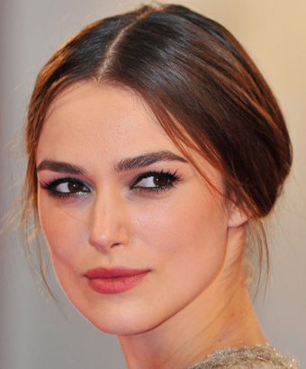 Keira Knightley's Simple, Elegant Updo