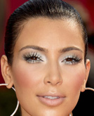 Kim Kardashian's Sleek Low Bun Hairstyle at Emmy Awards 2009