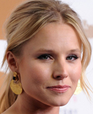 Kristen Bell's Low Ponytail Hairstyle