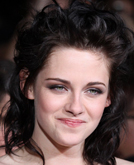 Kristen Stewart's Messy and Sleek Hairstyle