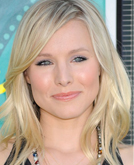 Kristen Bell's Shoulder Lenght Layered Hairstyle at 2009 Teen Choice Awards