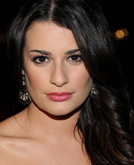 Lea Michele's Deep Side Swept Long Hairstyle at 2010 People's Choice Awards