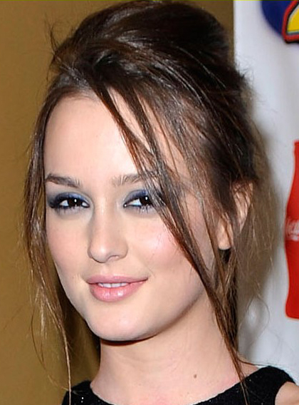 Leighton Meesters High Updo Hairstyle