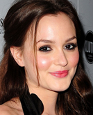 Leighton Meester's Half Up Half Down Hairstyle