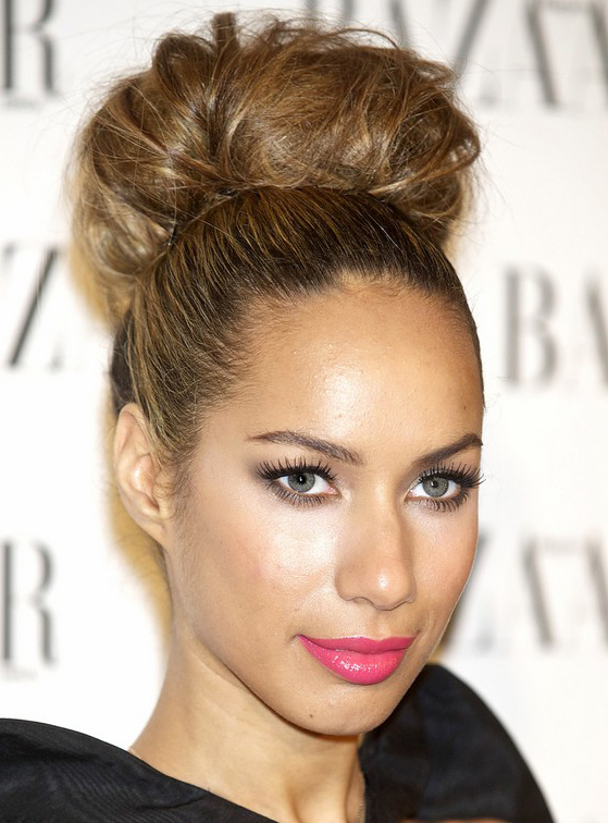 Leona Lewis's High Tight Hairstyle