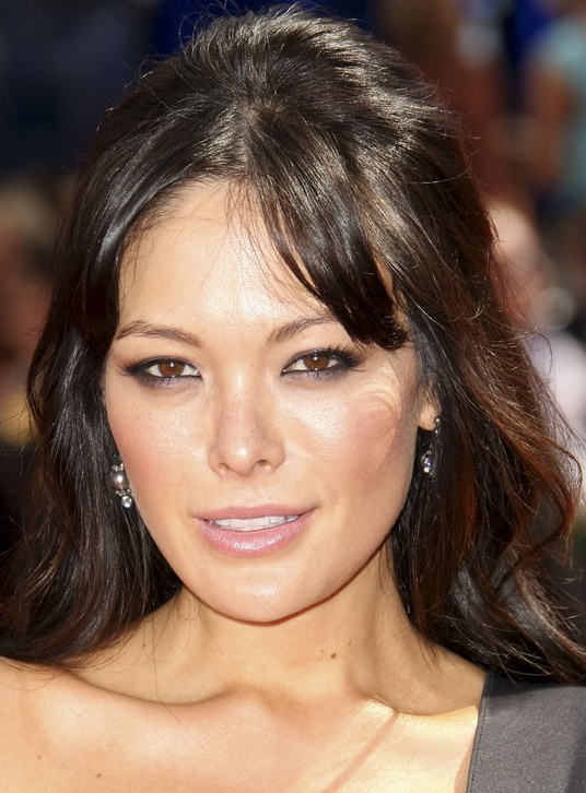 Sensational Lindsay Price39S Halfway Up Hairstyle With Wave Hairstyle At Emmy Short Hairstyles For Black Women Fulllsitofus