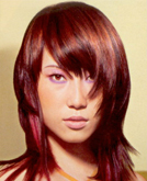 Layered Haircut Get Creative with Color