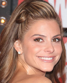 Maria Menounos's Halfway Up Hairstyle with Wave at MTV VMAs 2009