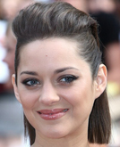 Marion Cotillard's Pulled Back Straight Bob Hairstyle