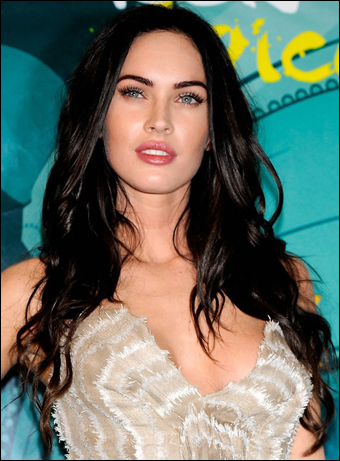 megan fox hairstyles. Megan Fox#39;s Long Sexy Curly