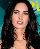 Megan Fox's Long Sexy Curly Hairstyle at 2009 Teen Choice Awards