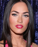 Megan Fox's Long Straight Hairstyle