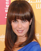 Mia Kirshner's Medium Hairstyle