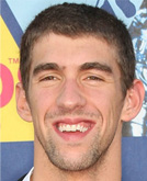 Michael Phelps arrives at the 2008 MTV Video Music Awards