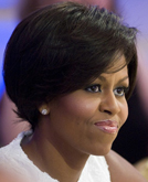 First Lady Michelle Obama's New Short Hairstyle