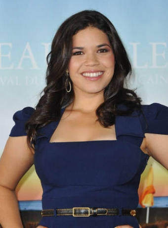 america ferrera haircut. America Ferrera#39;s Long Curly