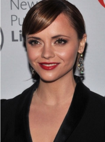 coil hairstyles : Christina Ricci hairstyles
