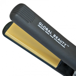 Global Beauty Ceramic Hair Straightener