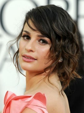 Lea Michelle hairstyles
