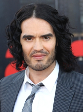 Russell Brand hairstyles