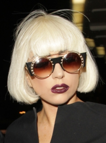 Lady Gaga's Platinum Blonde