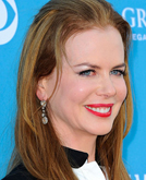 Nicole Kidman's Halfway Up Long Hairstyle at 2010 ACM Awards