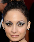 Nicole Richie's High Updo Hairstyle at 2010 Oscars Red Carpet