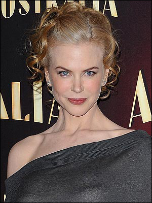 Nicole Kidman with Updo Hairstyle