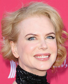 Nicole Kidman Layered Short Curly Hairstyle at ACMs 2009
