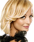 Nicole Richie Blond Medium Hairstyle