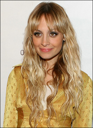 Hair Styles for Long Hair » side bangs with curly hair. Nicole Richie Long