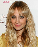 Nicole Richie Long Curly Hairstyle with Bangs