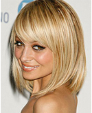 Nicole Richie's Mid-length Sleek Bob and Long Wavy Hair