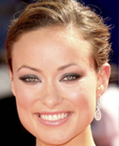Olivia Wilde's High Updo  Bun Hairstyle at Emmy Awards 2009