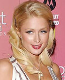 Paris Hilton Medium Hairstyle