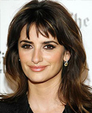 Penelope Cruz with Soft Bangs