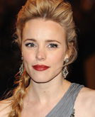 Rachel McAdams's Lovely Low Braided Hairstyle