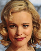 Rachel McAdams's Medium Hairstyle with Waves