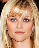Reese Witherspoon's Choppy Bobs and Long Sleek Straight with Side-swept Bangs
