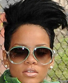 Rihanna Chic Short Hairstyle
